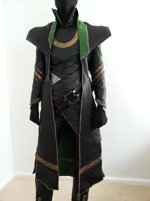 Costumes khaoskostumes how to make a loki costume part 12 dat coat solutioingenieria Gallery