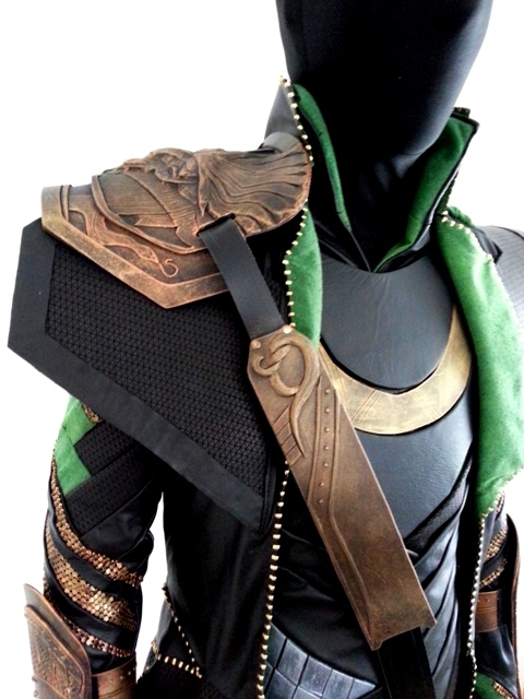 How to make a loki costume part 13 armour attatchments khaoskostumes lokiprogress96 solutioingenieria Gallery