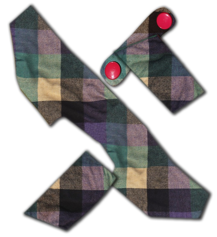 Fabric 6 jigsaw-pieces